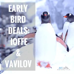 Vavilov & Ioffe early bird deals 2018